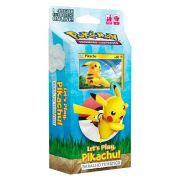 Jogo Pokémon Starter Deck Let's Play Pikachu - Copag