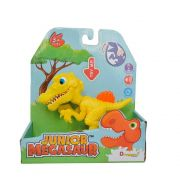 Junior Megasaur Mini Dino Comilão Amarelo 81441 - Fun