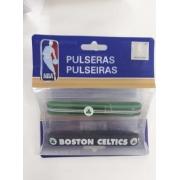 Kit C/2 Pulseiras de Silicone NBA Boston Celtics - Maccabi 7181