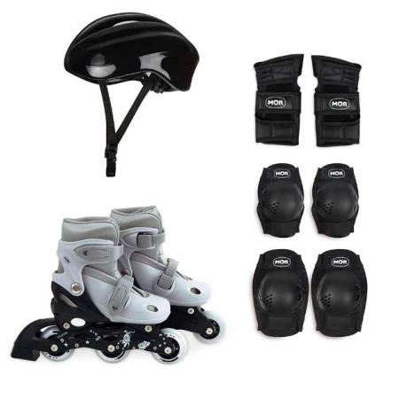 Kit Roller Cinza Tamanho P 30/33 - Mor 40600102