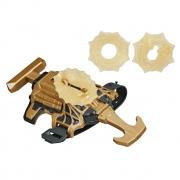 Lança Teias Homem Aranha Stretch Shot Dourado - Hasbro 423928