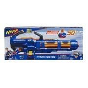 Lançador de Dardos Nerf N-Strike Elite Titan CS-50 Hasbro  E4026