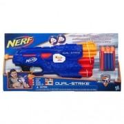 Lancador Nerf Dual Strike Elite B4620 - Hasbro