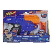 Lançador Nerf Elite Shellstrike Ds 6 - Hasbro E6171