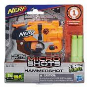 Lançador Nerf Microshots Hammershot E0720/E0489 - Hasbro
