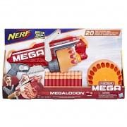 Lançador Nerf  N-Strike Mega Megalodon E4217 - Hasbro