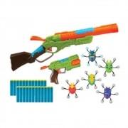 Lançadores de Dardo Bug Attack Value Pack 24 Dardos - Candide 5504