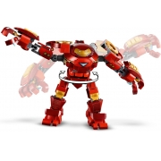 Lego Avengers Iron Man Hulkbuster Versus Agente A.I.M.- Lego 76164