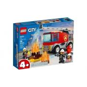 Lego City Caminhão dos Bombeiros com Escada - Lego 60280