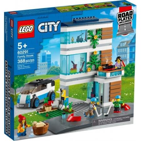 Lego City Casa de FamIlia Moderna - Lego 60291