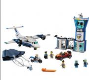Lego City Polícia Aérea Base Aérea - Lego 60210