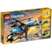 Lego Creator 3 Em 1  Helicóptero Com 2 Hélices 31096