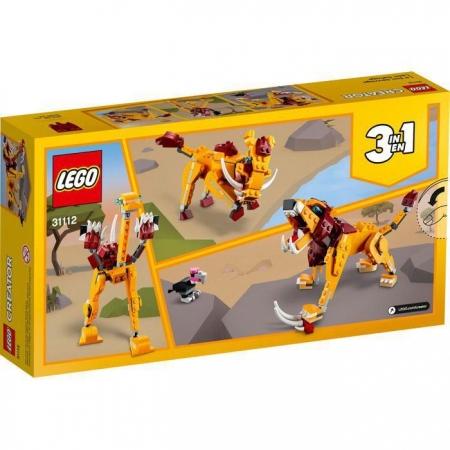 Lego Creator Leão Selvagem - Lego  31112