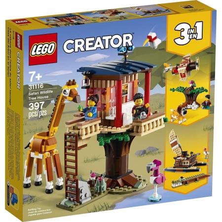 Lego Creator Safari Wildlife Tree House - Lego 31116