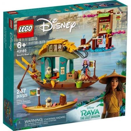 Lego Disney Princesa Raya o Barco de Boun - Lego 43185