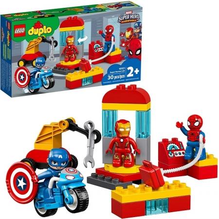 Lego Duplo Marvel Laboratório de Super-Heróis - Lego 10921