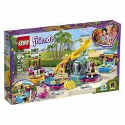 Lego Friends Festa Na Piscina Da Andrea 41374