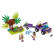 Lego Friends Resgate Selva do Filhote de Elefante Lego 41421