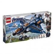 Lego Marvel Avengers O Quinjet dos Vingadores  76126