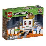Lego Minecraft A Arena Da Caveira 21145