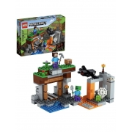 Lego Minecraft A Mina Abandonada - Lego 21166