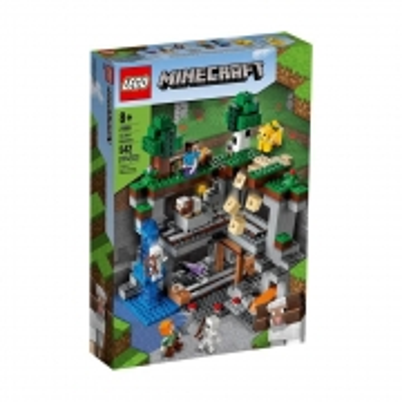 Lego  Minecraft A Primeira Aventura - Lego 21169