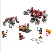 Lego Minecraft O Combate de Redstone - Lego 21163