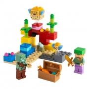 Lego Minecraft O Recife de Coral - Lego 21164