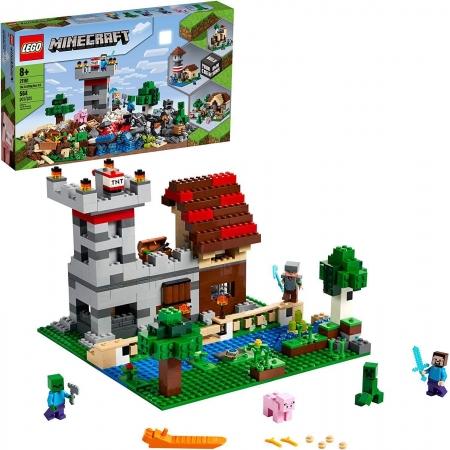 Lego Minecraft The Crafting Box 3.0 - Lego 21161
