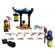 Lego Ninjago Conjunto de Combate Cole vs Guerreiro Fantasma - Lego 71733