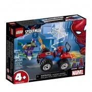 Lego Spider Man A Perseguição de Carro do Homem Aranha 76133
