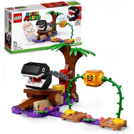 Lego Super Mario Confronto na selva com Chain Chomp Lego 71381