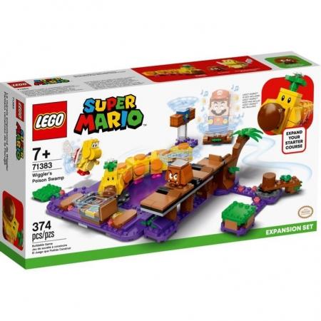 Lego Super Mario O Pântano Venenoso De Wiggler - Lego 71383