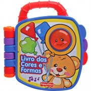 Livrinho Aprender e Brincar Cores e Formas - Fisher-Price P5318