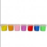Massa de Modelar Super Slime Estica e Pula Sortida - Polibrinq 2031ML