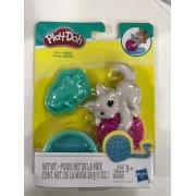 Massinha Play Doh Mini Mascotes Kitty Gatinho Hasbro E2237/E2124