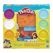 Massinha Play-Doh Números - E8533 / E8530 - Hasbro