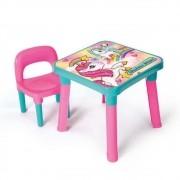 Mesinha com Cadeira Unicórnio - Monte Líbano MI5070