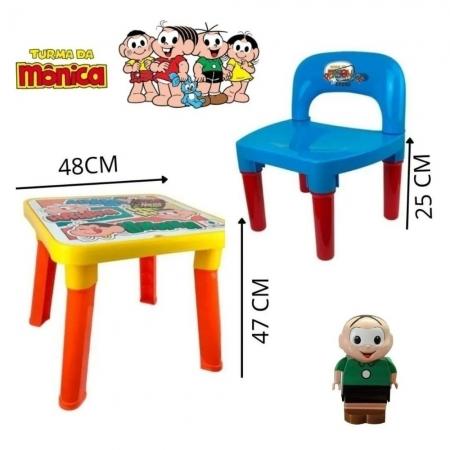 Mesinha Infantil com Cadeira Cebolinha - Monte Libano 265