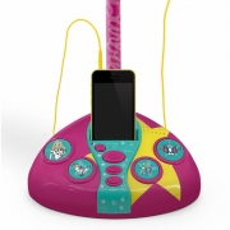 Microfone Fabuloso Barbie Com Função Mp3 Player - Fun F00044