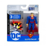 Mini Figura Articulada DC Comics Liga da Justiça Superman - Sunny 2189