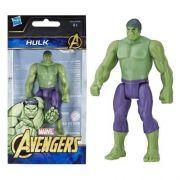 Mini Figura De Açao Marvel Vingadores Hulk Hasbro E4353