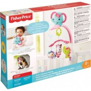 Móbile Amiguinhas Animadas Rosa - Fisher-Price DRD69