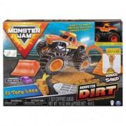 Monster Jam Playset c/ Massa Areia El toro Loco Monster Dirt - Sunny 2024