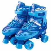 Patins Infantil Roller 30/33 Azul ajustado - Fenix RL-02A