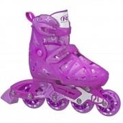 Patins Inline Tracer Girl Tamanho M - Roller Derby I149GM