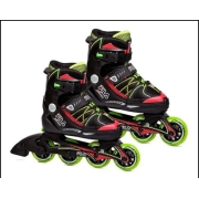 Patins Xone Junior Boy Blackredlimef 16 Tam M - Fila 14002