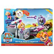 Patrulha Canina Playset 2 Em 1 Cenário Skye Ride N Rescue 1386 - Sunny