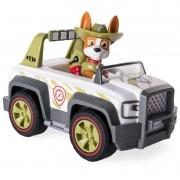 Patrulha Canina Tracker Com Veiculo Jungle Cruiser 1302 - Su