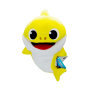 Pelúcia Fantoche Baby Shark Amarelo - Sunny 2354